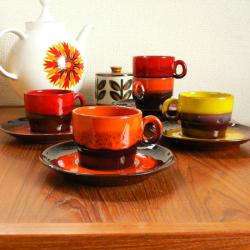 tw0265フランス製ショットグラス*amber design*北欧家具やヴィンテージ雑貨等のインテリア通販