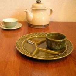 tw0293フランス・サルグミーヌ製陶器モーニングセット*amber designビンテージ北欧中古家具アンティーク雑貨通販アンバーデザイン