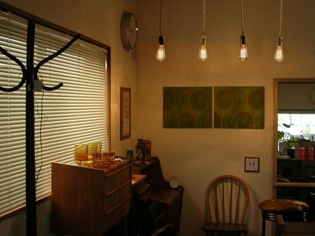 カフェ照明 レトロ電球ペンダントライト