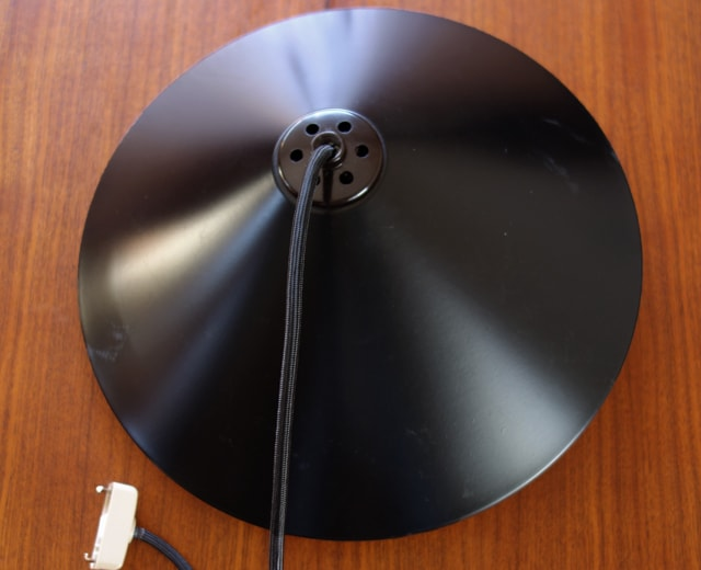 ビンテージ照明シェード黒