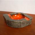 ac0227ヴィンテージ陶器アッシュトレイ