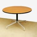 ft0289ハーマンミラー製イームズ丸テーブルセグメンテッドベース