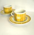 tw0237mosaカップ&ソーサーYEL