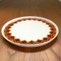 tw0256レトロなデザインのドイツ製Melitta ケーキ皿*amber designビンテージ北欧中古家具雑貨インテリア通販