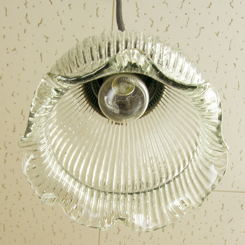 アンティーク調ガラス照明