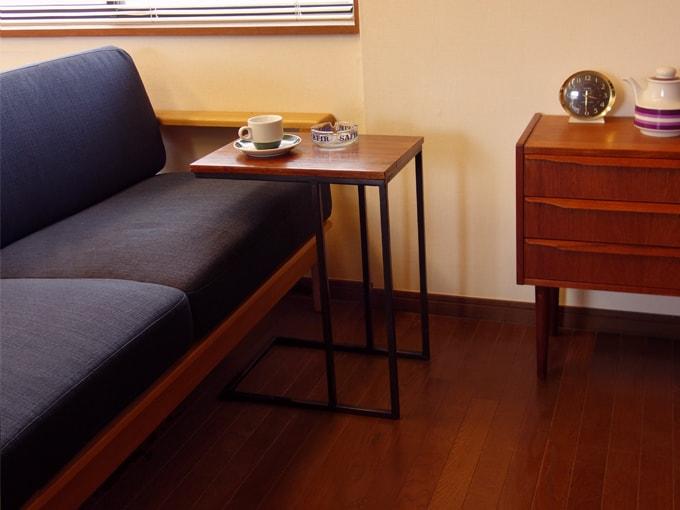 お洒落なソファテーブル