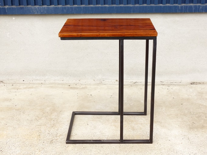 サイドテーブル コ型