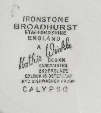 tw0080 BROADHURSTパン皿