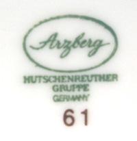 tw0089 Arzberg プレート