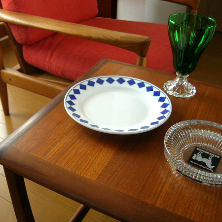 tw0171 フランスアンティーク L Amandinoiseのパン皿 *amber design*北欧中古家具やビンテージ雑貨等のインテリア通販
