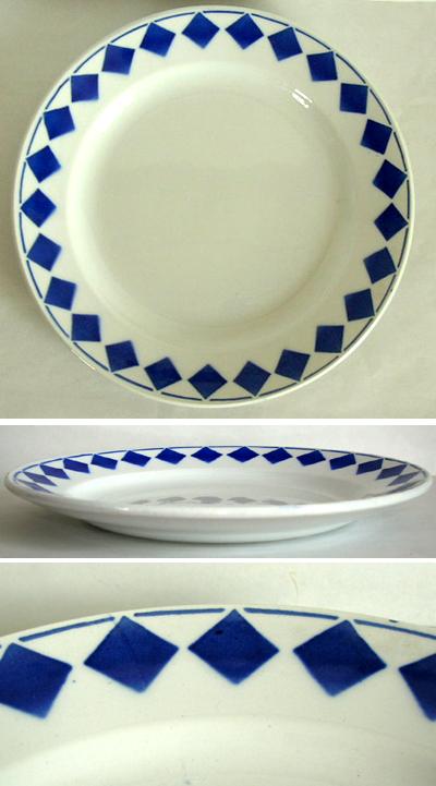 tw0171 フランスアンティーク L Amandinoiseのパン皿