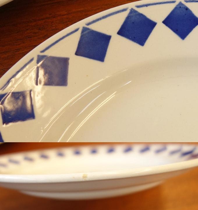 アンティーク デザート皿4