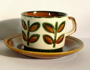 アンティーク陶器カップBOCH