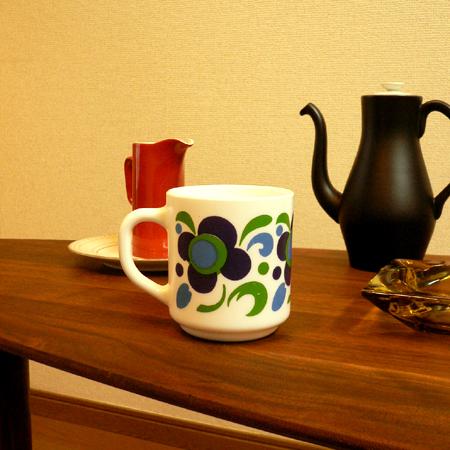 tw0215フランス製Knorrノベルティマグ*amber design*北欧家具やビンテージ雑貨等のインテリア通販