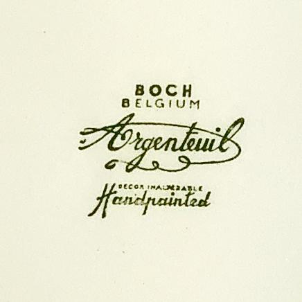 ヴィンテージ食器BOCH刻印