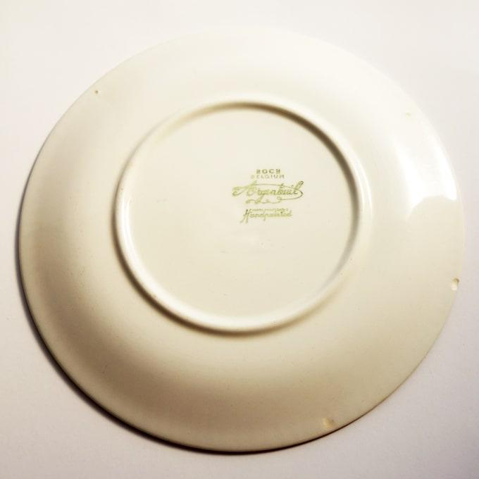 ビンテージ陶器BOCH皿 刻印