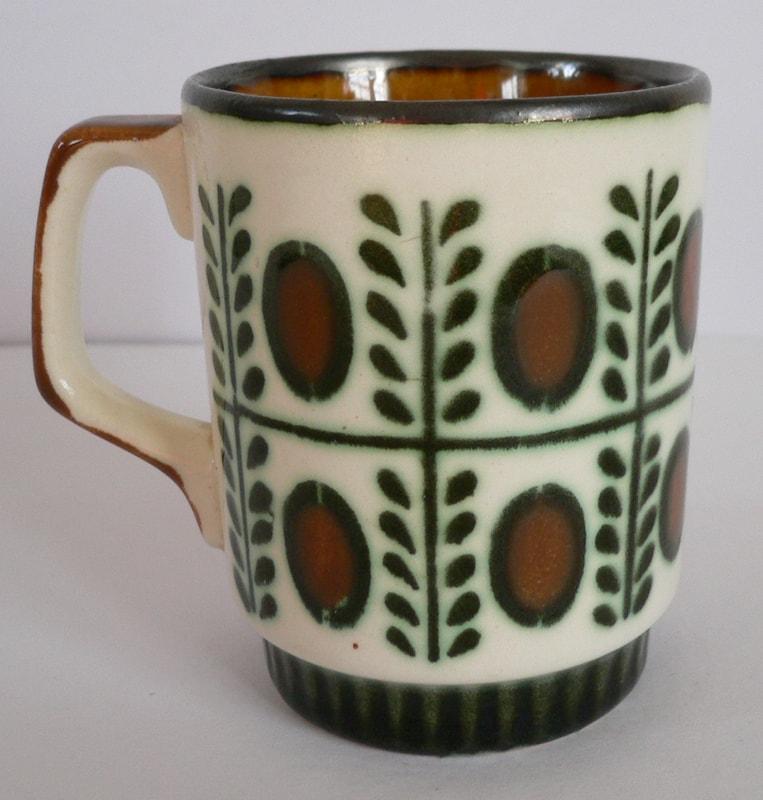 ビンテージ コーヒーカップBOCH