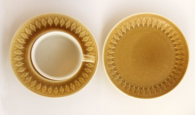 カップ&ソーサーとケーキ皿のセット JHQ