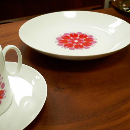 tw0280ドイツ製Thomasパスタ皿*amber design*北欧家具やヴィンテージ雑貨等のインテリア通販