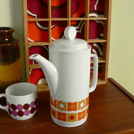 tw0282ドイツBavaria製コーヒーポット*amber design*北欧家具やヴィンテージ雑貨等のインテリア通販