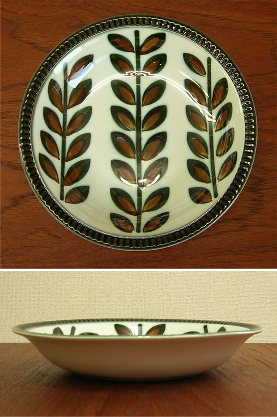 アンティーク陶器スープ皿BOCH
