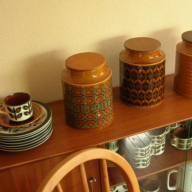 ホーンジー陶器キャニスターL
