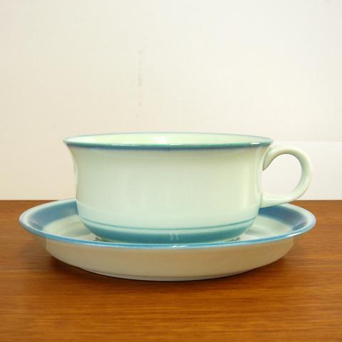 デンマーク陶器Desireeカップ&ソーサー