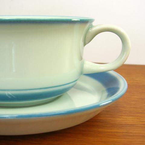 アンティーク陶器Desireeカップ&ソーサーDesiree