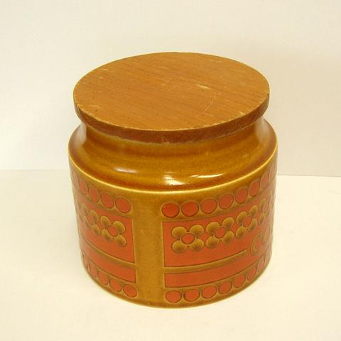 イギリスHornsea陶器キャニスター