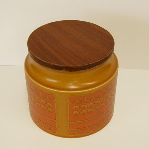 ヴィンテージ陶器キャニスター ホーンジー