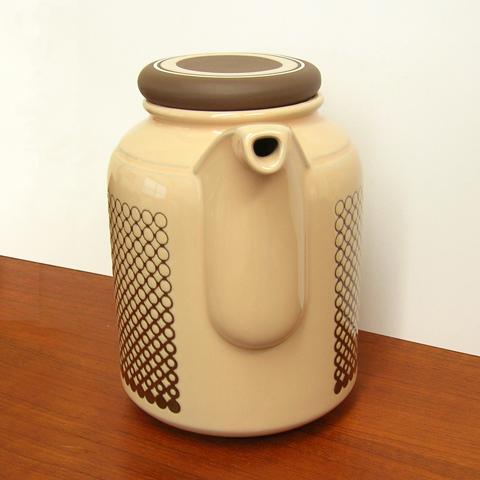 アンティーク陶器 ホーンジー ポット