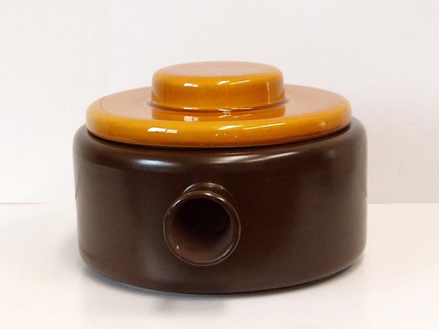 陶器蓋つきキャセロール
