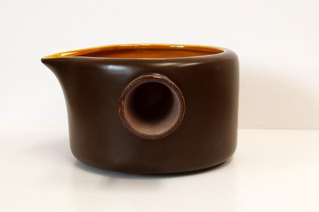 陶器ソースポット ビンテージ