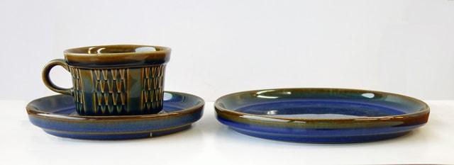 ヴィンテージ食器SOHOLMコーヒーカップ