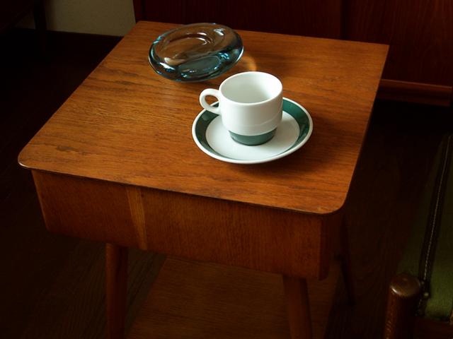 ヴィンテージ陶器mosaカップ&ソーサー
