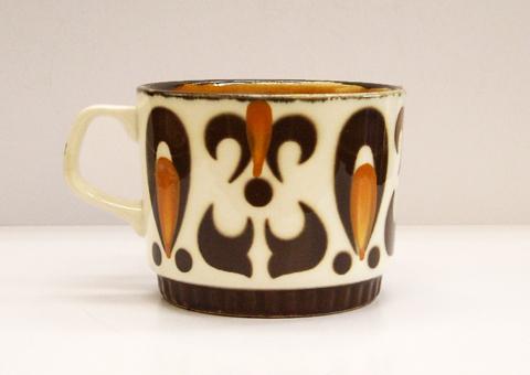 ベルギーBOCH陶器コーヒーカップ