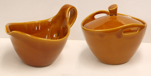 ヴィンテージ陶器シュガー&クリーマー