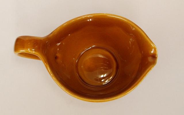 アンティーク陶器ミルクピッチャー