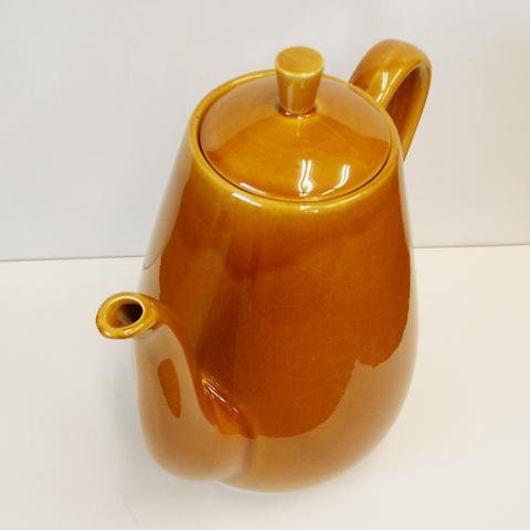 ビンテージ 陶器ティーポット