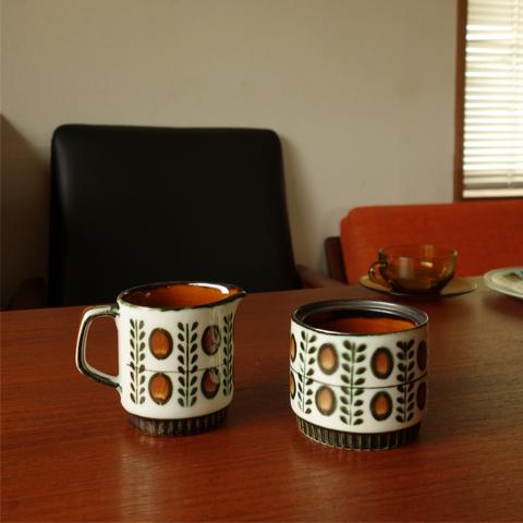 ベルギー ヴィンテージ陶器BOCH