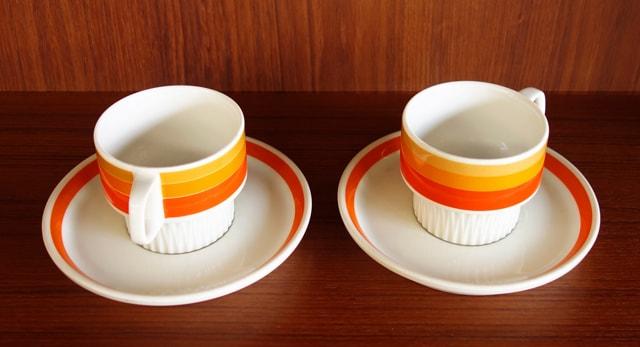 コーヒーカップ ペア ビンテージ