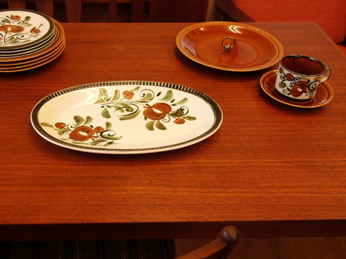 BOCHアルジャントゥイユ大皿オーバル型