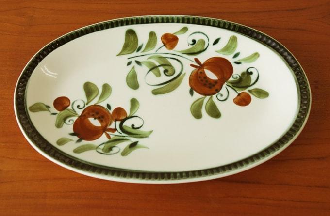 ベルギーBOCHオーバル皿
