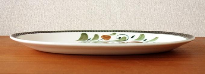 ビンテージ オーバル皿