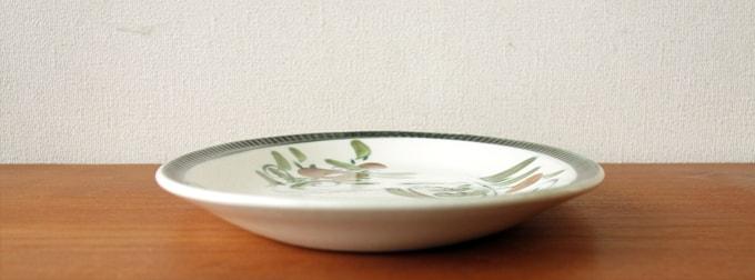 BOCHアンティーク皿 アルジャントゥイユ