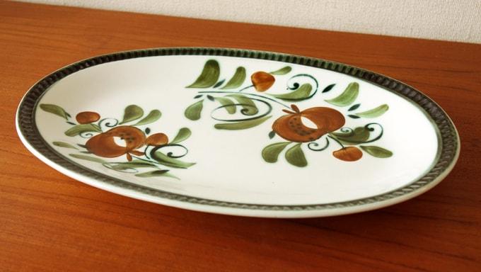 BOCHビンテージ オーバル皿