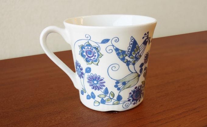 北欧ビンテージ食器フィッギオ コーヒーカップ