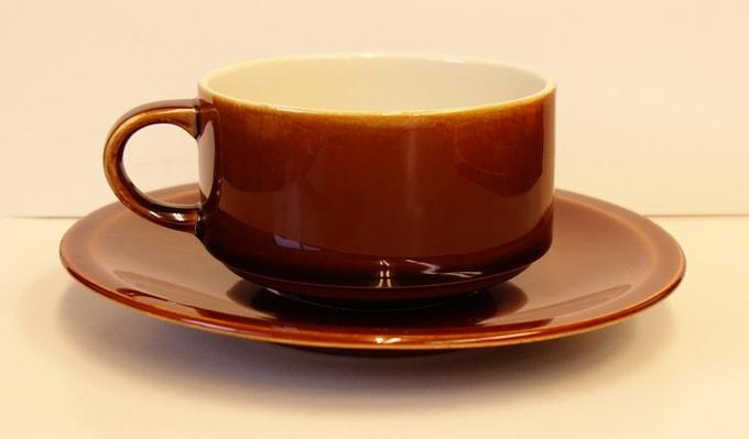 Villeroy & Boch コーヒーカップ ブラウン
