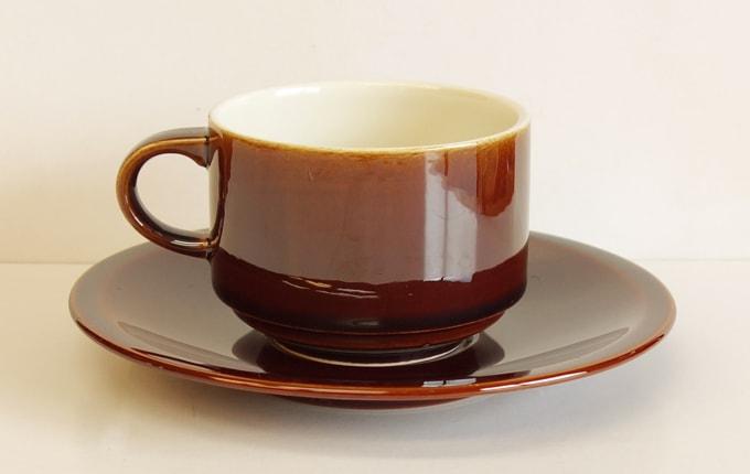 ビンテージ食器Villeroy&Bochカップ&ソーサー