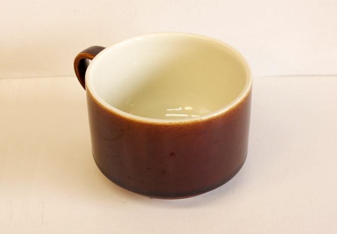 Villeroy&Bochカップ ブラウン ルクセンブルグ